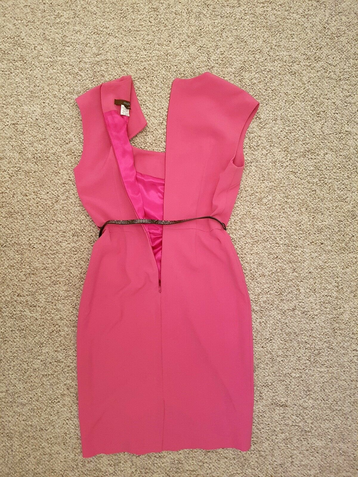 Rose Fitted Unique TailoRouge Wiggle Crayon Robe Unique Fitted 8 c37b46
