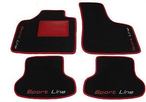 /'12 Tappeti AUTO,Tappetini Decori AUDI S3 SPORTBACK 8P 8PA /'03 4 Block..12