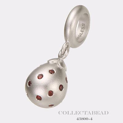 Authentic Endless Jewelry Charm Smokey Star Drop  Silver 43800-2