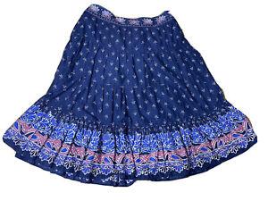 Autograph Plus Size Womens Size 16 Maxi Flared Bohemian Skirt