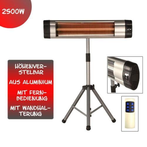 2500 Watt Infrarot Heizstrahler Standheizer Terassen Strahler Fernbedienung