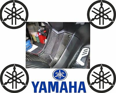 YAMAHA T-MAX 530 (2012-2016)  TUNNEL DECORATION CARBON PANEL