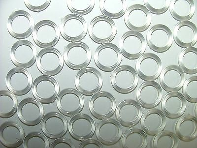 Clear Plastic 13mm Roman Blind Curtain Rings Any Amount Ebay