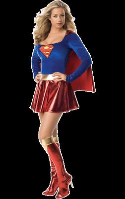 Da Donna Classico Supergirl Supereroe Film & Tv Costume-mostra Il Titolo Originale Stile (In) Alla Moda;