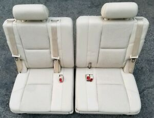 Sensational Details About 2007 2013 2014 Cadillac Escalade Third Row Rear Seats 3Rd Esv Yukon Napa Onthecornerstone Fun Painted Chair Ideas Images Onthecornerstoneorg