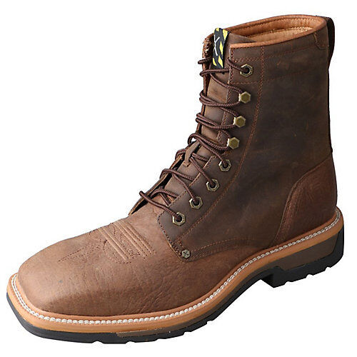 Twisted X Mens  Lite Cowboy Lacer Work Boots  cheap online