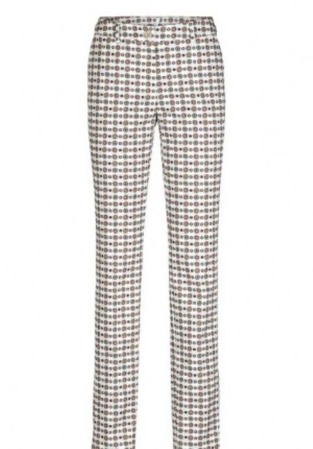 B. C.femmes Pantalon Imprimé Pantalon Stretch Chinos Couleurs Multicolore 127239