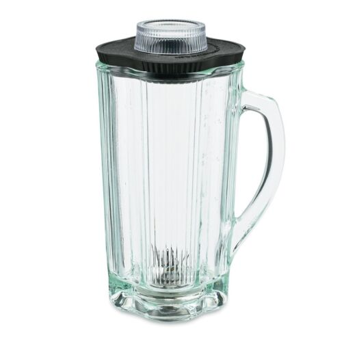 Waring CAC34 Commercial Blender Complete Glass Container with Blade and Lid 40oz