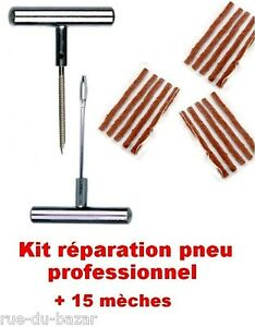 kit reparation professionnel pneu tubeless 100 m tal 15. Black Bedroom Furniture Sets. Home Design Ideas