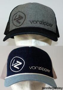 Image is loading VON-ZIPPER-CAP-NEW-Unisex-MENS-MOBY-BEACH- fa2b71b5860