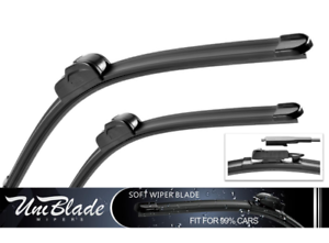 "Pour Opel-Corsa Hayon 2015 /> Front Wiper Blades uniblade 26/"" 16/"""