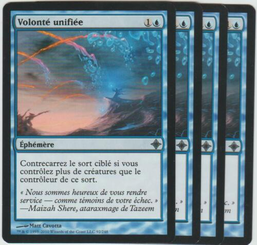 4x Unified Will ►Magic-Style◄ MTG NM Volonté unifiée x4