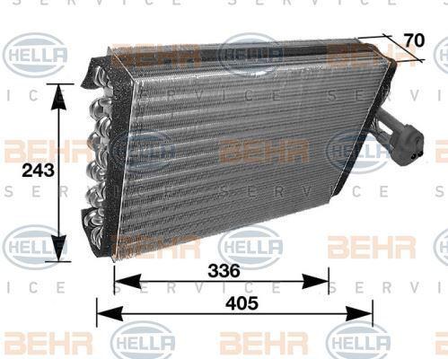 8FV 351 210-281 HELLA Evaporator  air conditioning