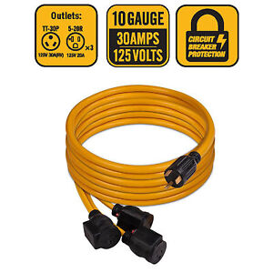 Astonishing Firman 1101 30 Amp Generator Power Cord Tt 30P To 3X5 20R Wiring Digital Resources Lavecompassionincorg