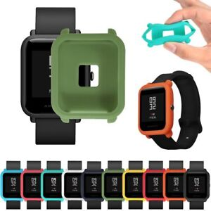 Soft-TPU-Protection-Silicone-Full-Case-Cover-For-Huami-Amazfit-Bip-Youth-Watch