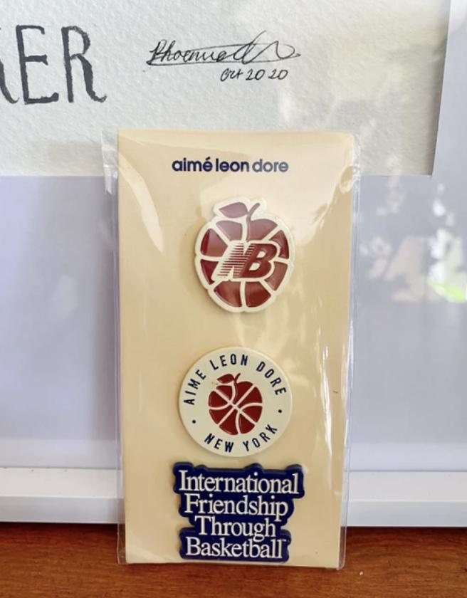 ALD / New Balance Pin 3 Pack Aime Leon Dore