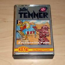 Jan Tenner Hörspielkassette MC Kiosk - Folge 17 - Zweisteins Falle
