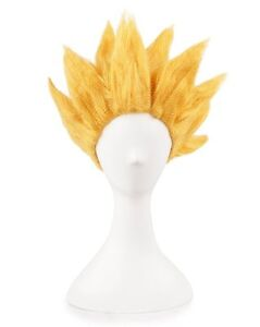 Dragon-Ball-Z-Super-Saiyan-2-Goku-Son-Gokou-Wig-Costume-Cosplay-Party-Anime-Hair