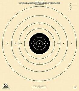 """Officiel NRA B-8 [B8] 25-Yard chronométrée & Rapid Fire Pistolet [21""""x24""""] (10 cibles)-afficher le titre d`origine 1yugShpx-07141149-573583533"""