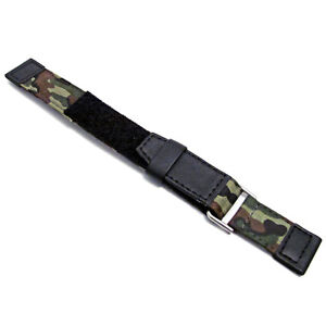 Tough-Hook-amp-Loop-Watch-Strap-Band-Camouflage-Camo-Design-by-Apollo-20mm