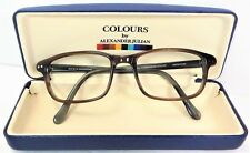 af0318476b Colours by Alexander Julian Eyeglass Frames Seersucker 52 18 140 Brown Horn