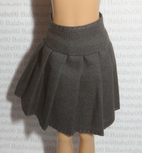 SKIRT ~ HERMOINE GRANGER GINNY WEASLEY DOLL GRAY PLEATED UNIFORM BOTTOM CLOTHING