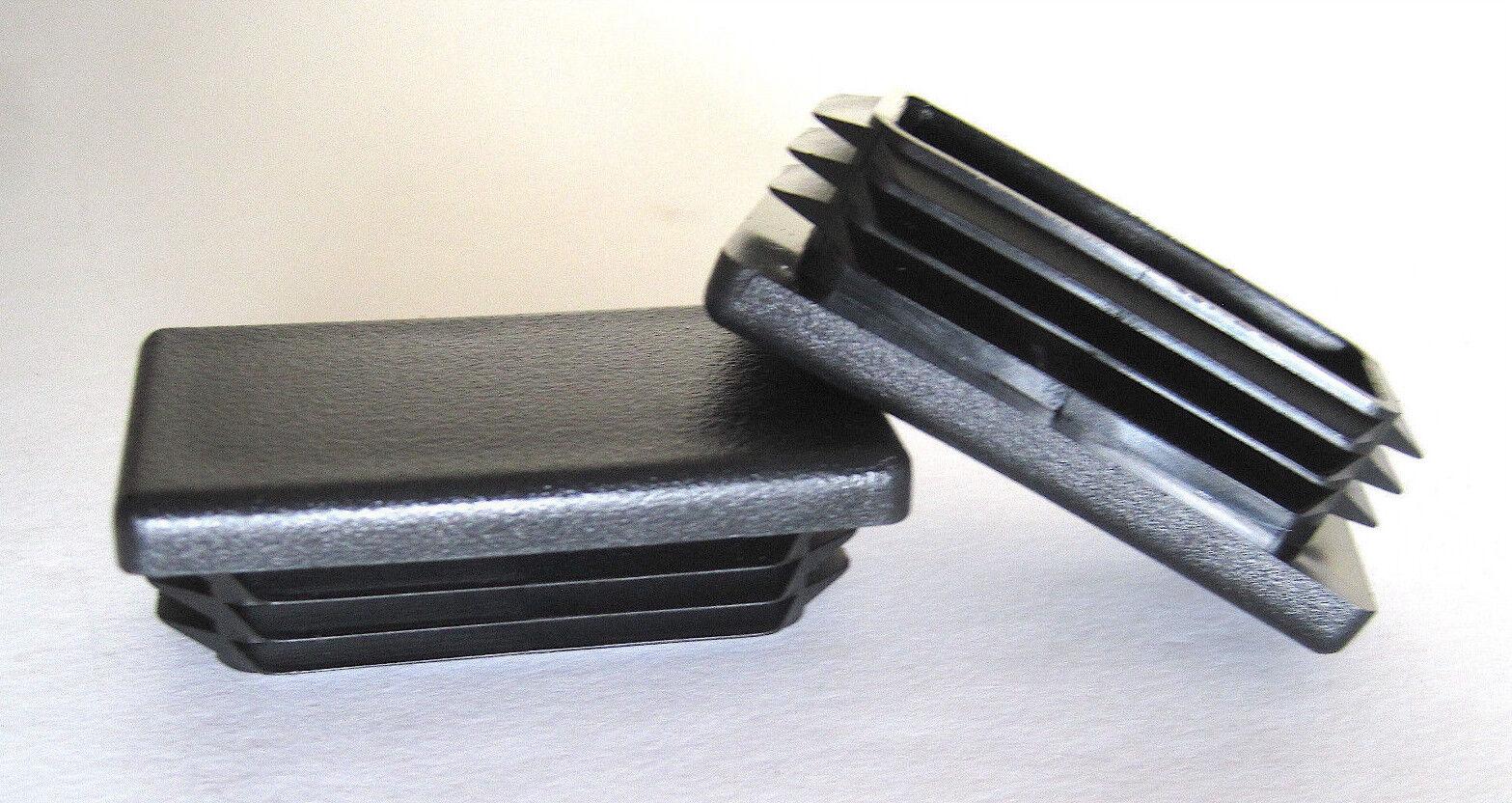 Quantity of 8 1 X 2 Rectangle TUBING END Cap Plug