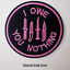 miniature 13 - Sew-Iron-On-Round-Patches-Popular-Badge-Transfer-Embroidered-Funny-Biker-Slogan