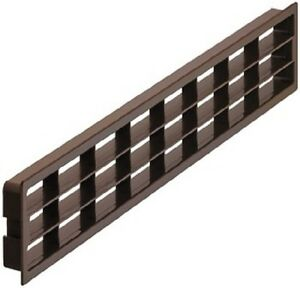 l ftungsgitter t r k hlschrank abluft sockelleiste m belgitter k che 458x65 mm ebay. Black Bedroom Furniture Sets. Home Design Ideas