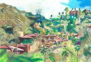 Artwork-Landscape-Oil-Pastel-Painting-Home-Decor-Travel-Adventure-6x4