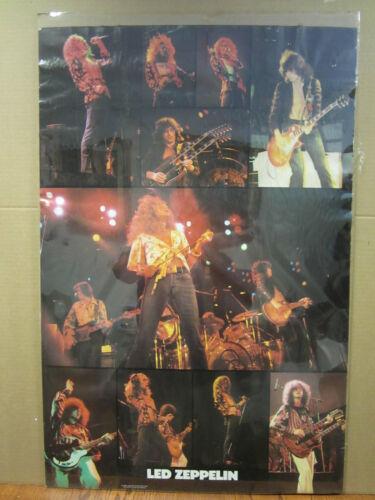 vintage Led zeppelin original Poster rock N roll 1982 2752