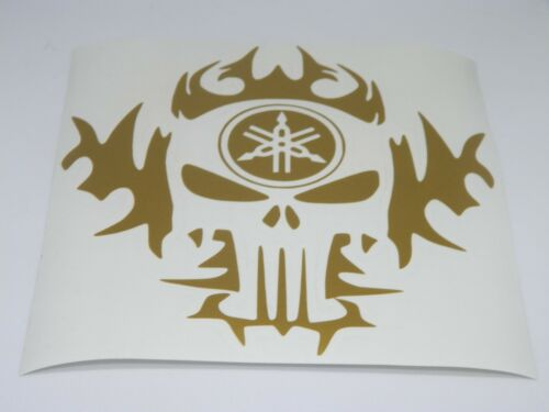 yamaha skull flames   sticker vinyl decal for car and others FINISH GLOSSY