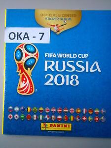 New-Panini-FIFA-World-Cup-Russia-2018-Empty-Football-Album