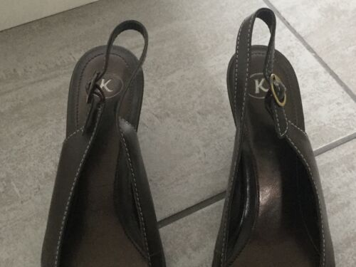 Size Great Heeled Shoes Condition Seledback K 4 Clarks Ladies xwq10BF0X