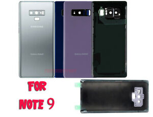 New-Battery-Cover-Glass-Rear-Back-Door-For-Samsung-Galaxy-Note-9-N960-Adhesive