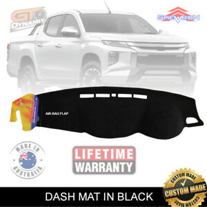 DASH-MAT-for-Mitsubishi-Triton-MR-GLX-GLS-GLR-Premium-1-2019-ON-DM1393-Black