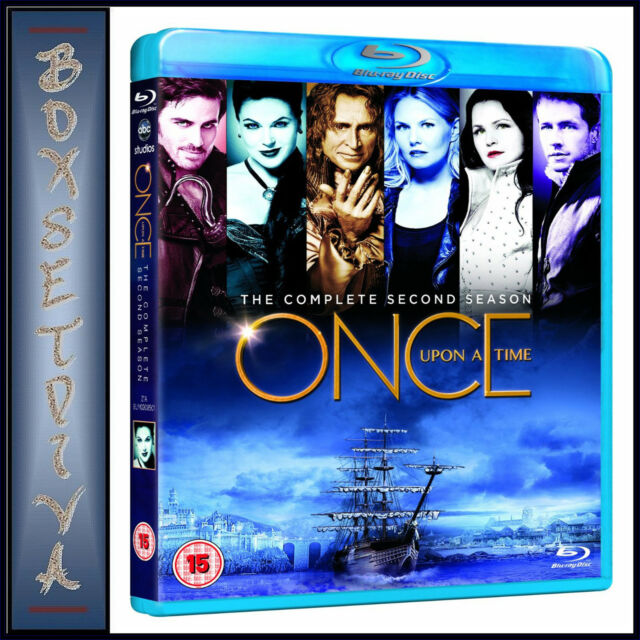 ONCE UPON A TIME - COMPLETE SERIES SEASON 2 *BRAND NEW  BLU-RAY *