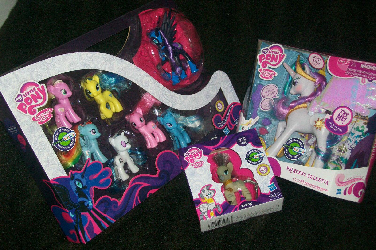 My Little Pony Favorite Collection NIGHTMARE MOON Zecora Princess White Celesti