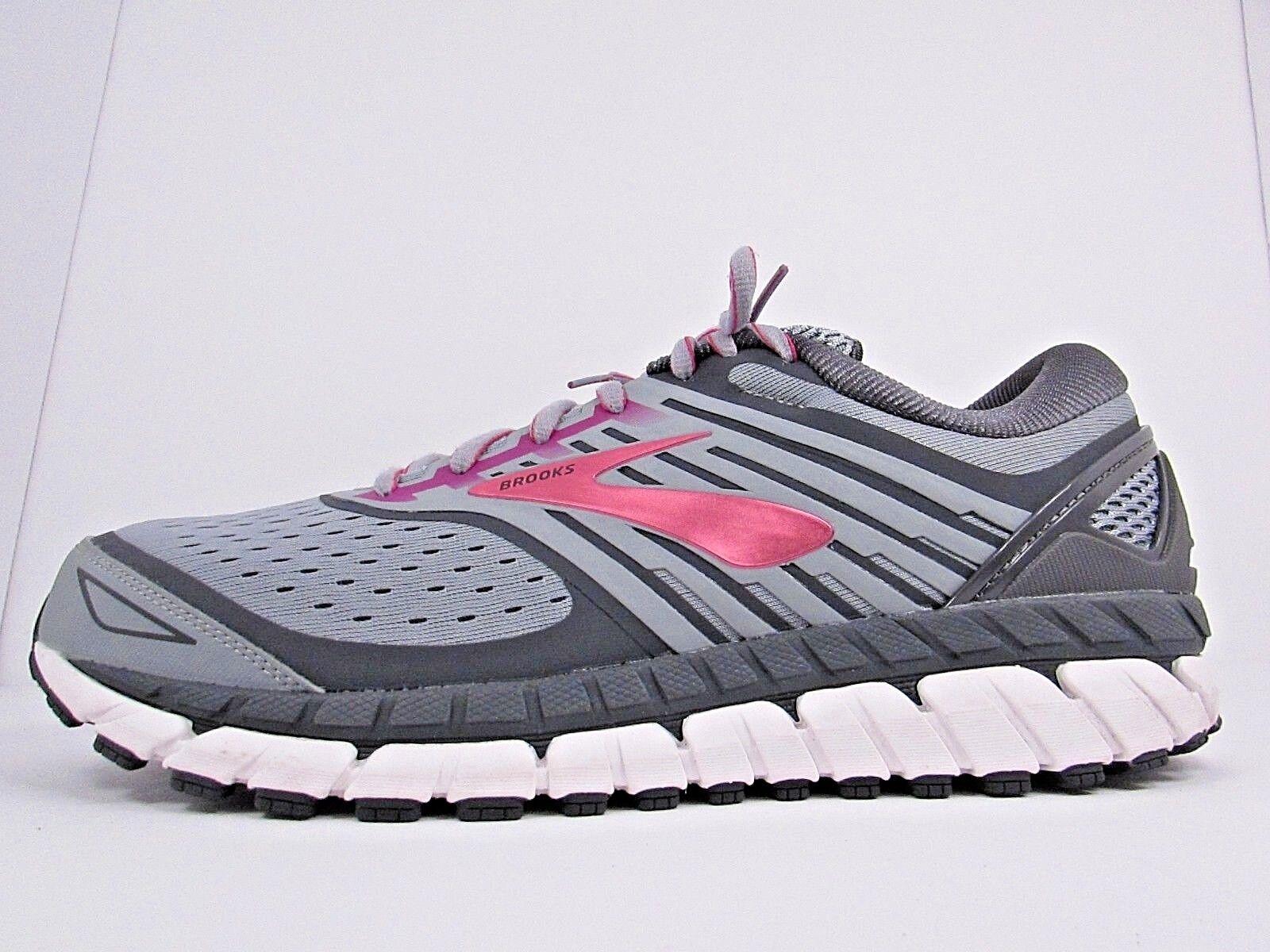 Damen BROOKS ARIEL 18 Größe 12 I WORN AROUND 2 MILES  RUNNING Schuhe