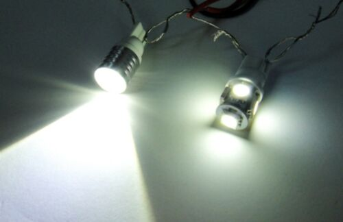 VW Caddy White LED ultra Side Light Upgrade Xenon Bulbs canbus 501