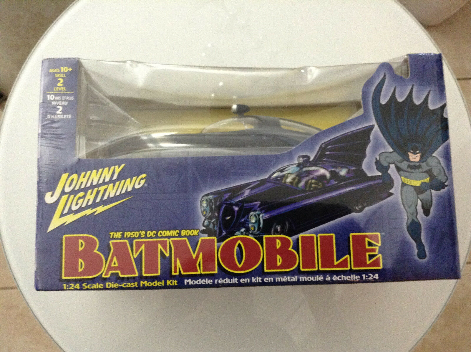 Batman in den 1950er jahren dc comic - batmobil 24 skala die-cast modell kit vehicle1