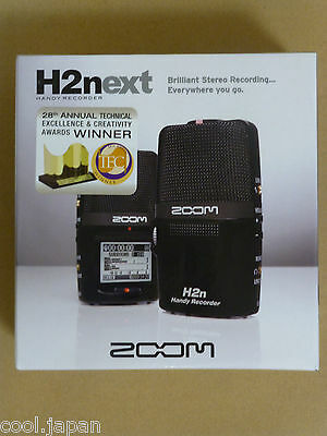 ZOOM H2n Handy Portable Recorder Digital Audio Linear PCM H2Next Japan NEW