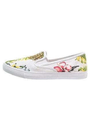 Even&odd Canvas Pineapple Slip-on Slippers Sneakers Scarpe Donna Ananas 38 Bnib Bello E Affascinante