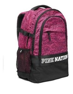 Bp19 Hot Collegiate Bnwt Secret Mochila Pink Nation Victoria's gPa0nw