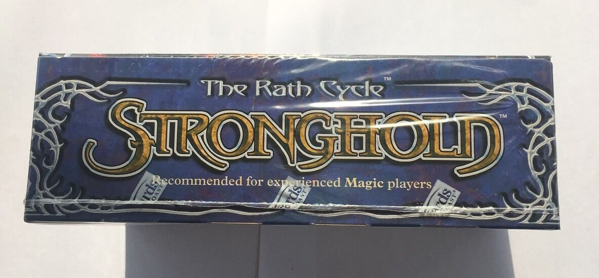 MTG Magic The Gathering Stronghold inglés 12 paquetes de Refuerzo Booster Box 18 Gem