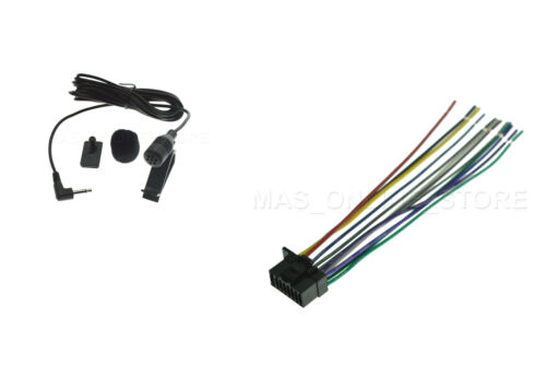 WIRE HARNESS /& MICROPHONE MIC FOR SONY MEX-BT3100P MEXBT3100P *SHIPS TODAY*