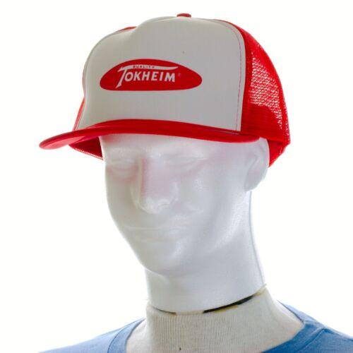 Tokheim Quality Pumps Trucker Snapback Hat Mesh Ga