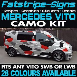 MERCEDES-VITO-CAMO-KIT-GRAPHICS-STICKERS-DECALS-CAMOUFLAGE-SWB-LWB-DAY-VAN-SPORT