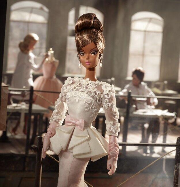 Evening Gown vestido de noche barbie Fashion Model w3426 Silkstone 2018 NRFB