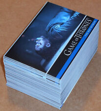 Foil Complete Parallel Base Set 81 Cards Wrappers Game Of Thrones Season 7